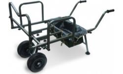 Wędkarskie wózki transportowe